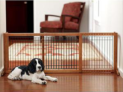 Keep your dog or puppy safe with a dog gate